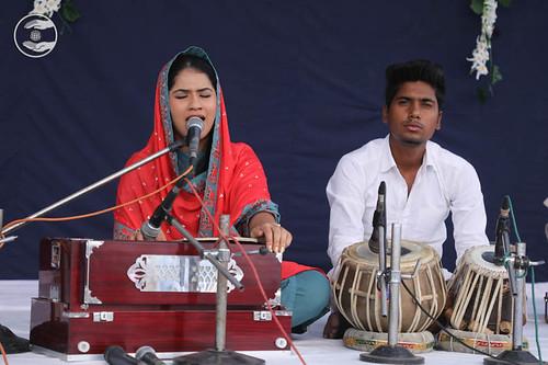 Devotional song by Simran from Panchkula Haryana