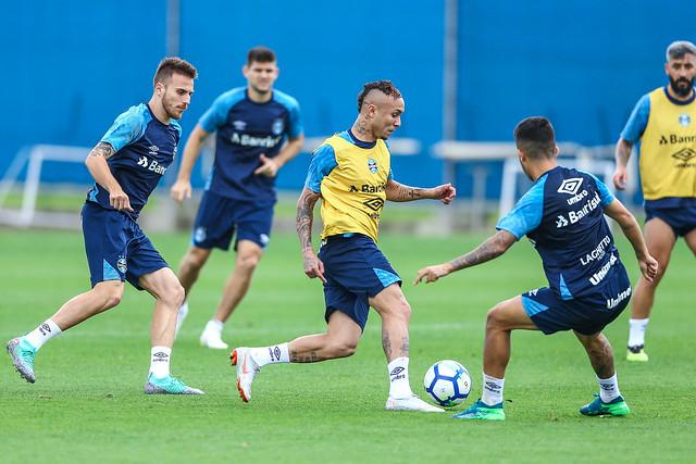 Treino Grêmio 27/09/2018