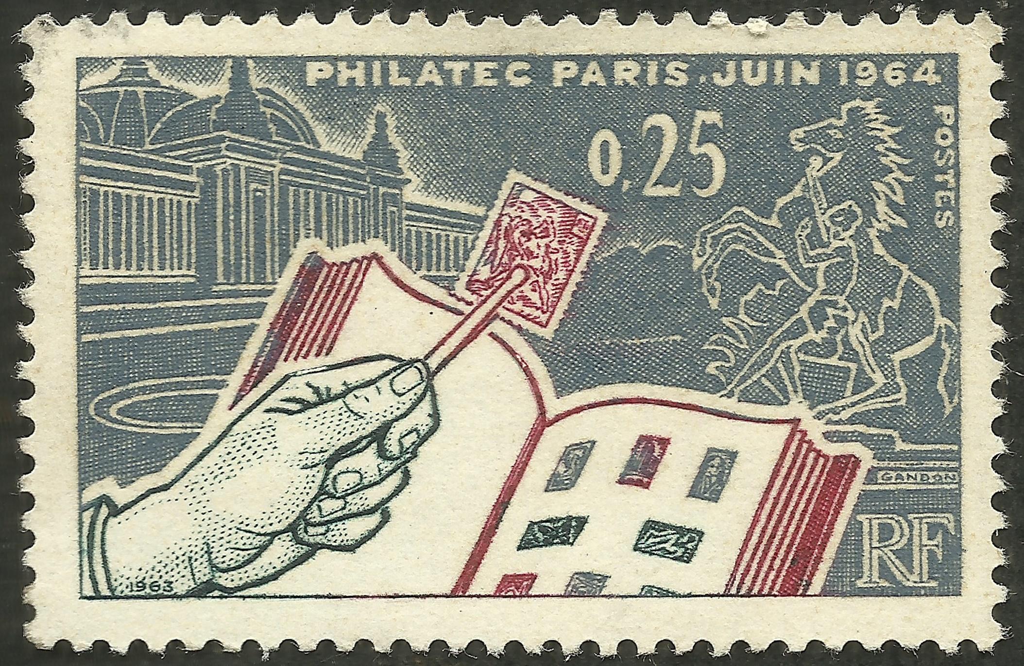 France - Scott #1078 (1963)