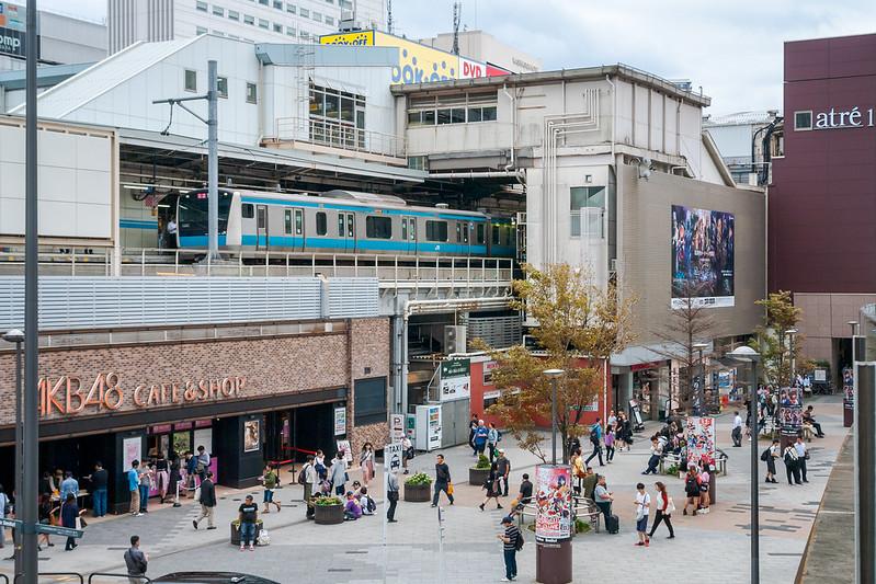 Akihabara electric town square