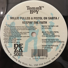 DE LA SOUL:MILLIE PULLED A PISTOL ON SANTA(LABEL SIDE-B)