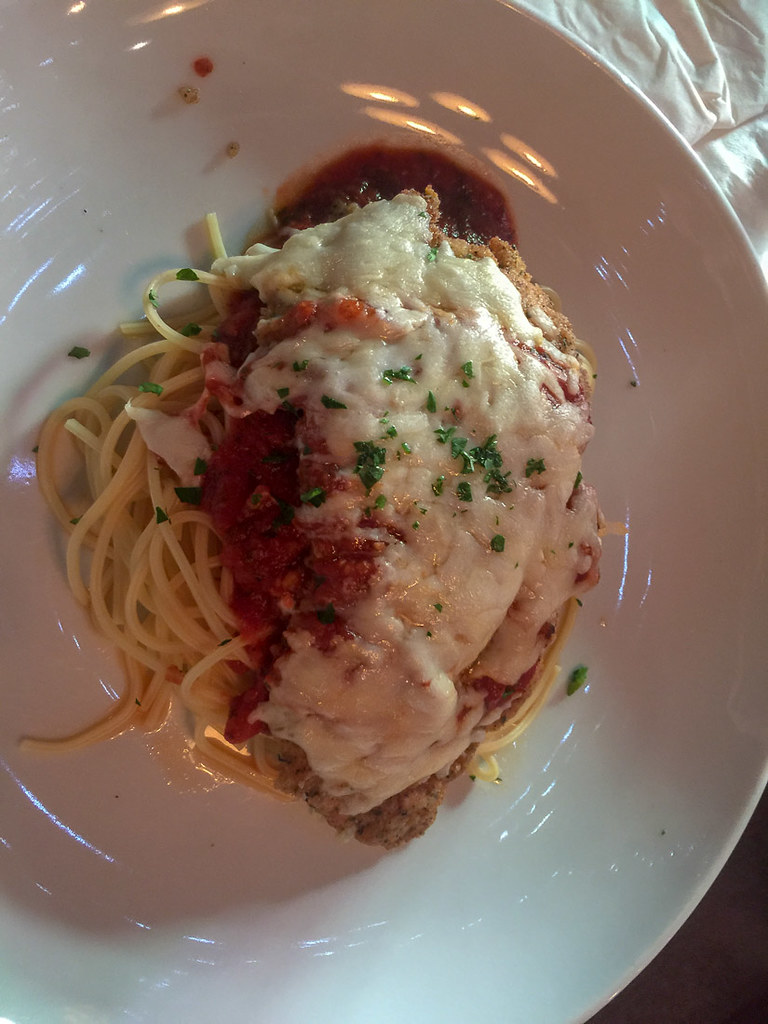 Chicken Parm at Mama Melrose's