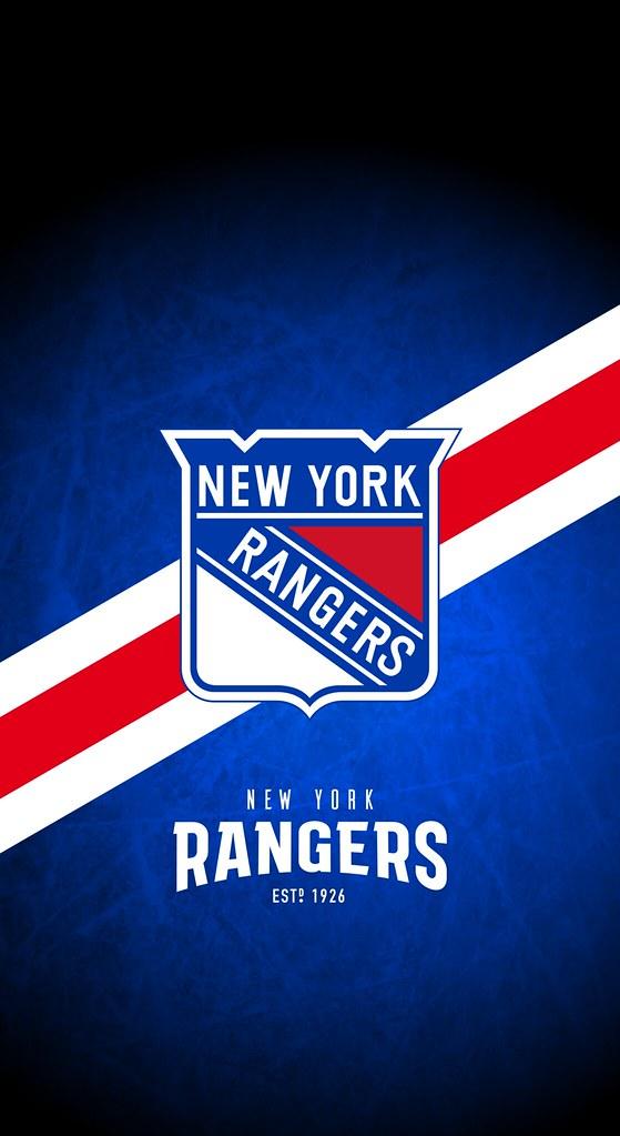 New York Rangers Nhl Iphone X Xs Xr Lock Screen Wallpape Flickr