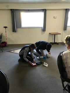 New Horizons for Seniors - CPR Demonstration