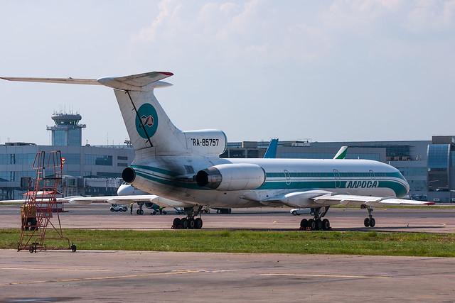 Tupolev Tu-154, Sony DSLR-A700, Sony 70-300mm F4.5-5.6 G SSM (SAL70300G)