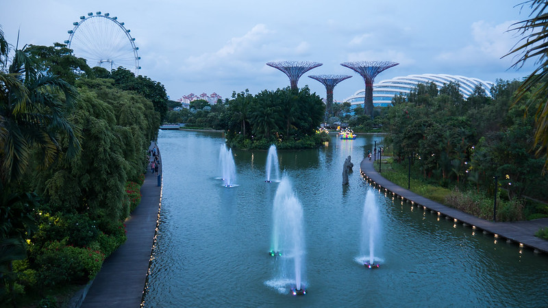 Dragonfly Lake, Gardens by the Bay, Singapure