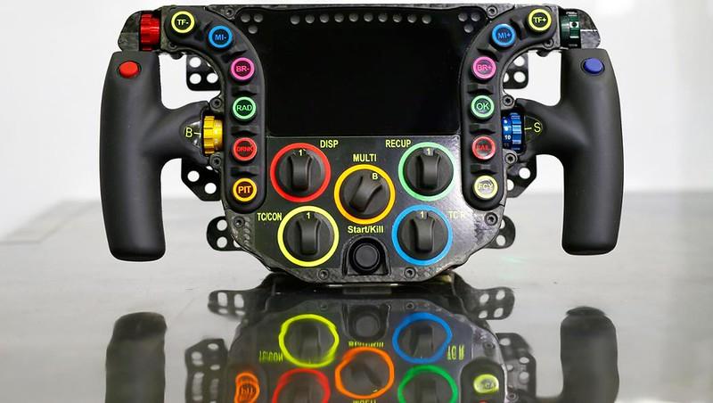 Porsche 919 LMP Hybrid Steering Wheel