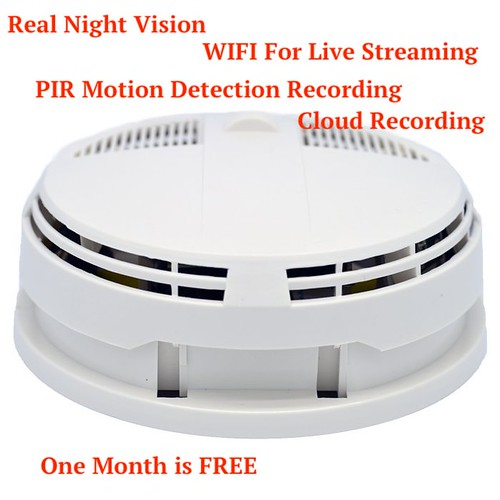 Spy Camera With Cloud Recording With Full Hd And Wifi Smoke