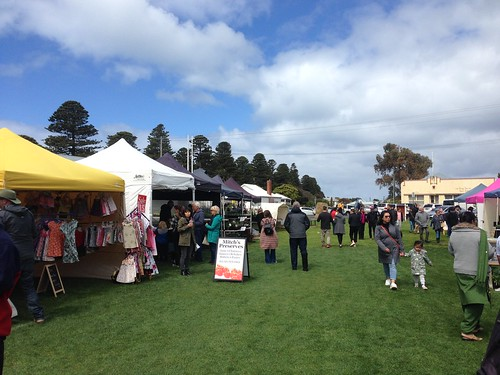 Craft market, Port Fairy