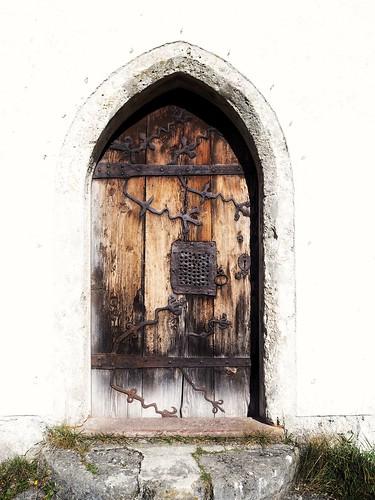 die Tür zu ...