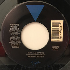 NENEH CHERRY:BUFFALO STANCE(LABEL SIDE-B)