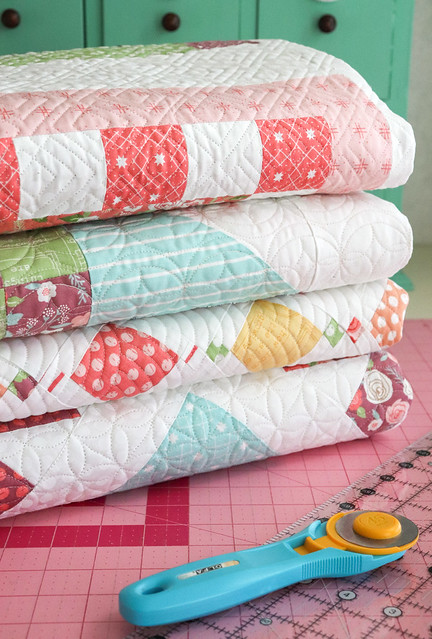 Lollipop Garden quilts