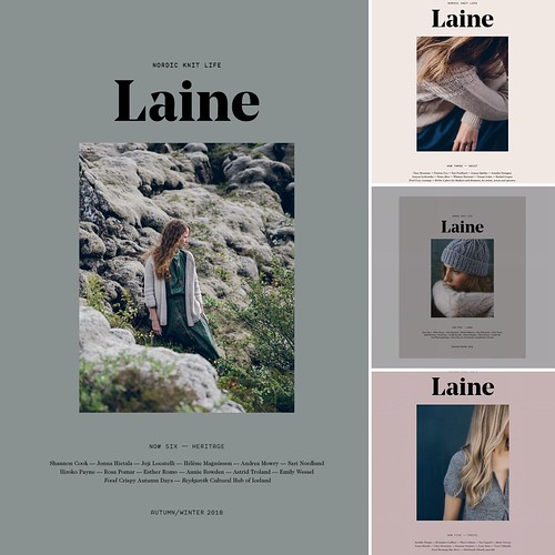 New and re-stocked Laine Magazine, Issues 3, 4, 5 and 6