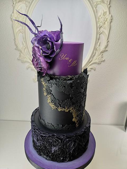 Wedding Cake by Brankica Ilic of Sweet Day Cakes