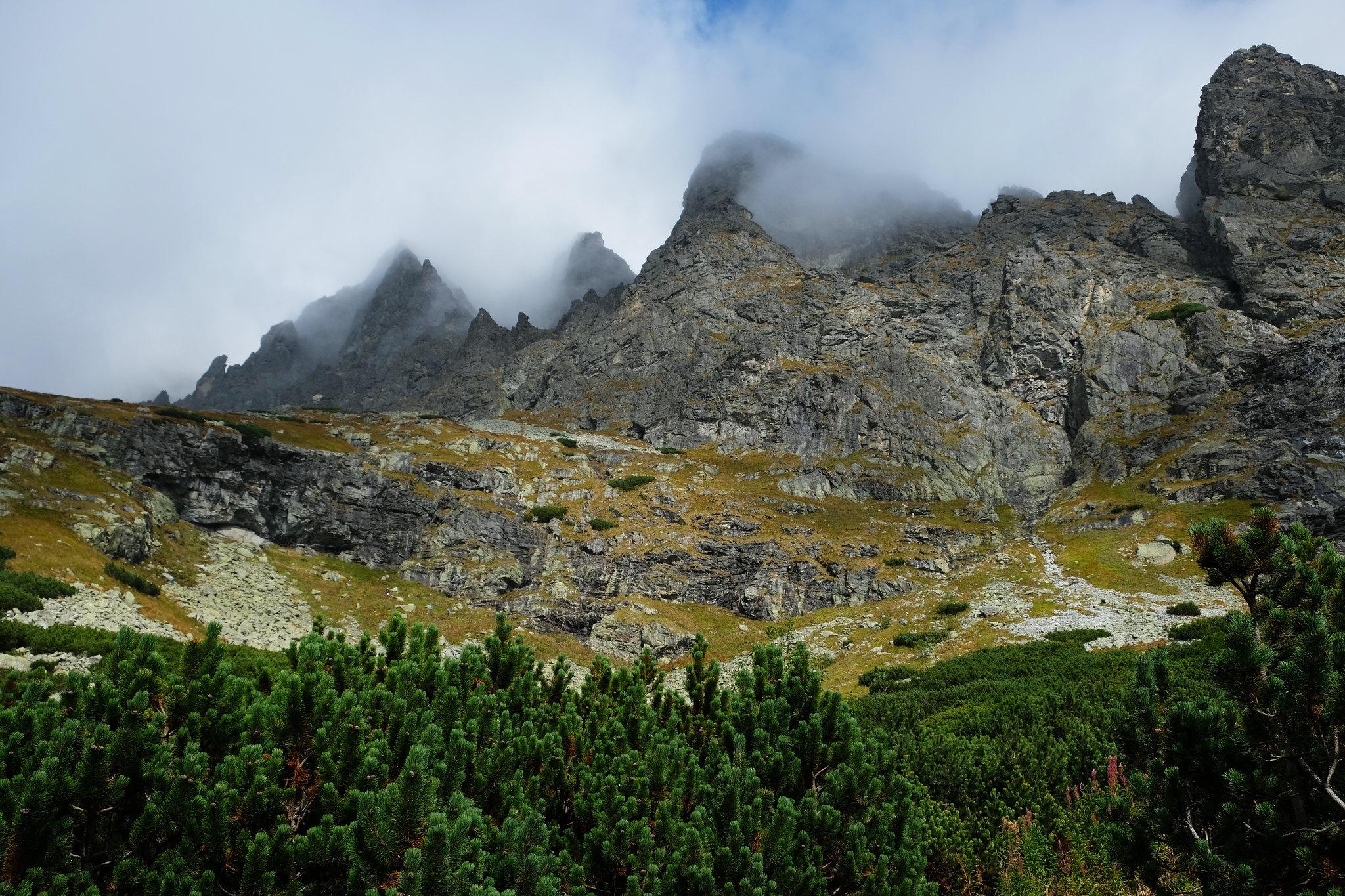 Foggy High Tatras, Slovakia