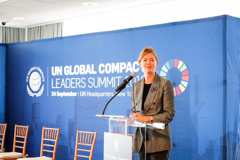UN Global Compact Leaders Summit 2018