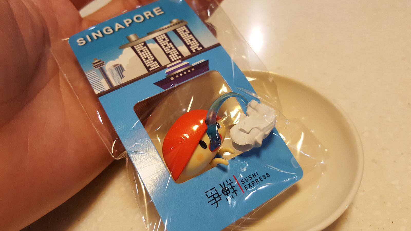 爭鮮 杯緣子 鮪魚 新加坡
