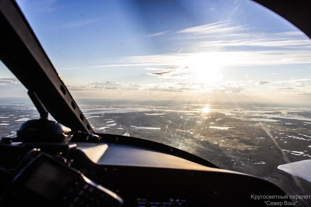 Вид из кабины Borey