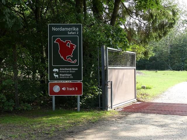 Anlagenschild, Zoo Givskud