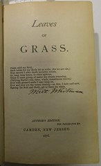 Penn Libraries PS3201 1876a: Title page