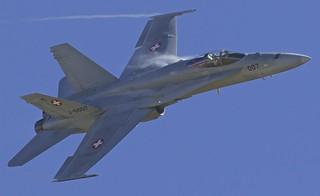 Axalp: SwissAirForce McDonnellDouglas MDC F/A 18C J-5007