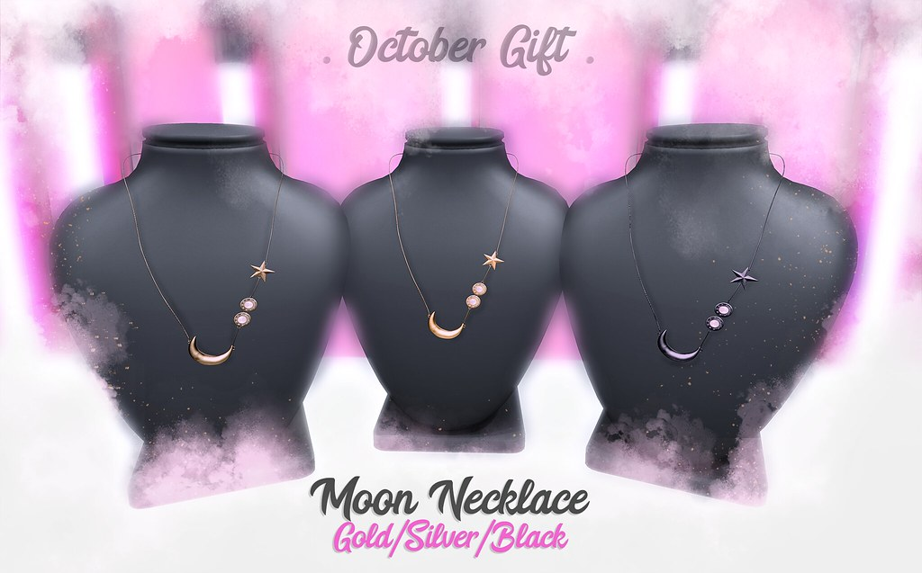 Moon Necklace - GIFT - - TeleportHub.com Live!