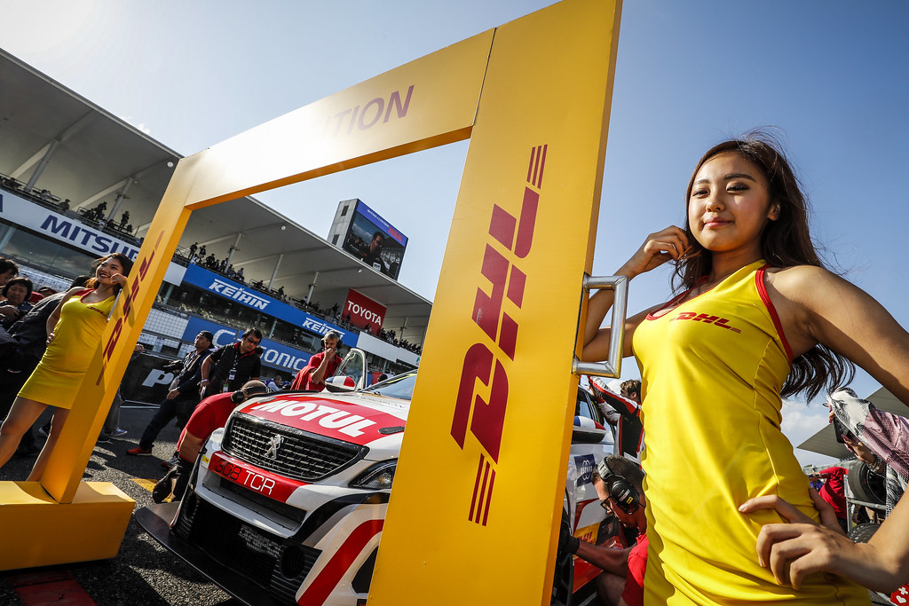 girl ambiance during the 2018 FIA WTCR World Touring Car cup of Japan, at Suzuka from october 26 to 28 - Photo Clement Marin / DPPI