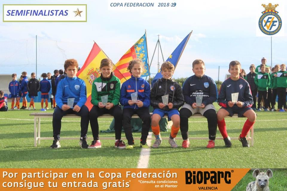 IX Copa Federación Alevín Fase* Jornada 1