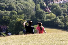 And That's the Sewage Works - Reigate Hill Candid - Aug 2015