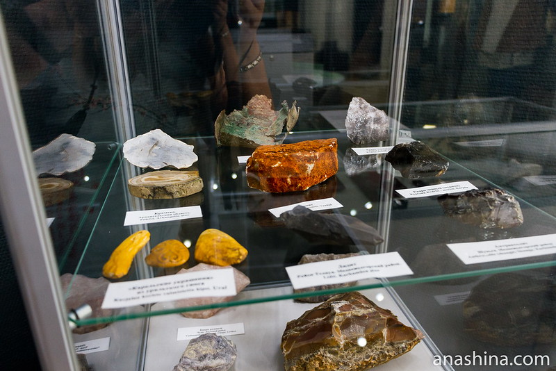 Горные породы и минералы, Региональный музей Северного Приладожья, Сортавала
