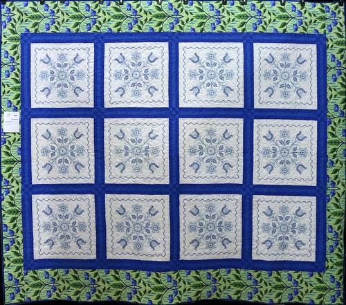 59: Dorothy's Blue Tulips - Lesa Reynolds