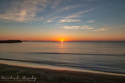 larnaca cyprus sunrise