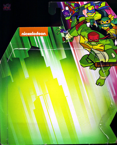 Nickelodeon  RISE of The TEENAGE MUTANT NINJA TURTLES :: MEAT SWEATS ..card backer i (( 2018 )) [[ Standard U.S. release ]]