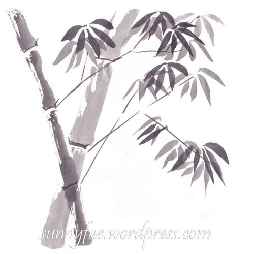 day 03 inktober 2018 bamboo