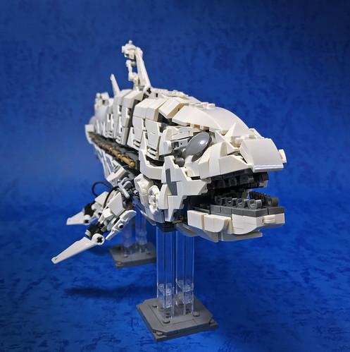 LEGO Mecha Coelacanth-10