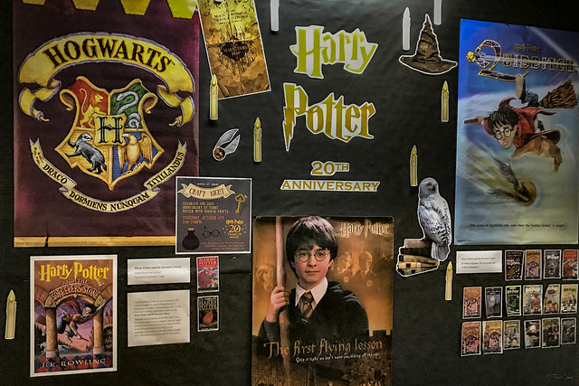 Downey City Library Harry Potter