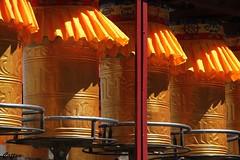 Temple bells - Drepung Monastery, 哲蚌寺, Tibet, China