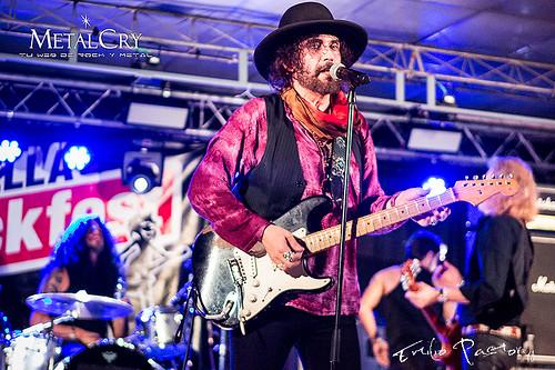 Electric Boys @Calella Rockfest, Calella(Barcelona)// 13/10/2018