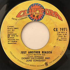 DONNY HATHAWAY AND JUNE CONQUEST:I THANK YOU(LABEL SIDE-B)