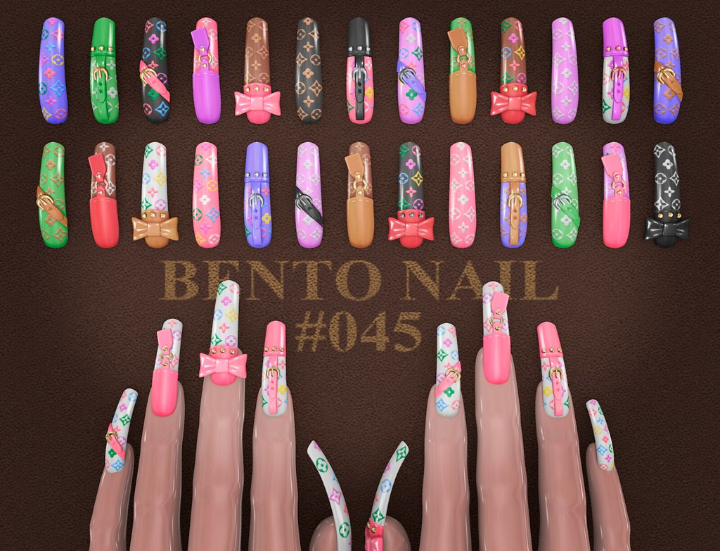 BENTO NAIL #045 - TeleportHub.com Live!