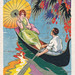 Art deco postcard by Chiostri by totallymystified