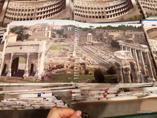 Roman Forum reimagined back in the day