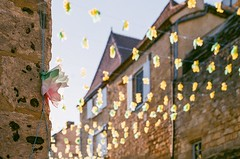 flowers for the festival... - Photo of Marnac