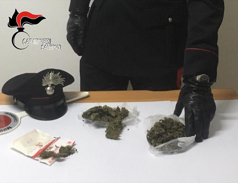 arresto marijuana sassano 13 novembre 2018