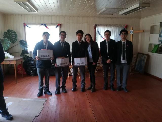 Donación CEE - Escuela Meipo