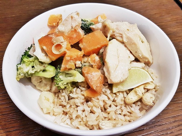 Energise - Coconut Chicken With Brown Rice & Veggies