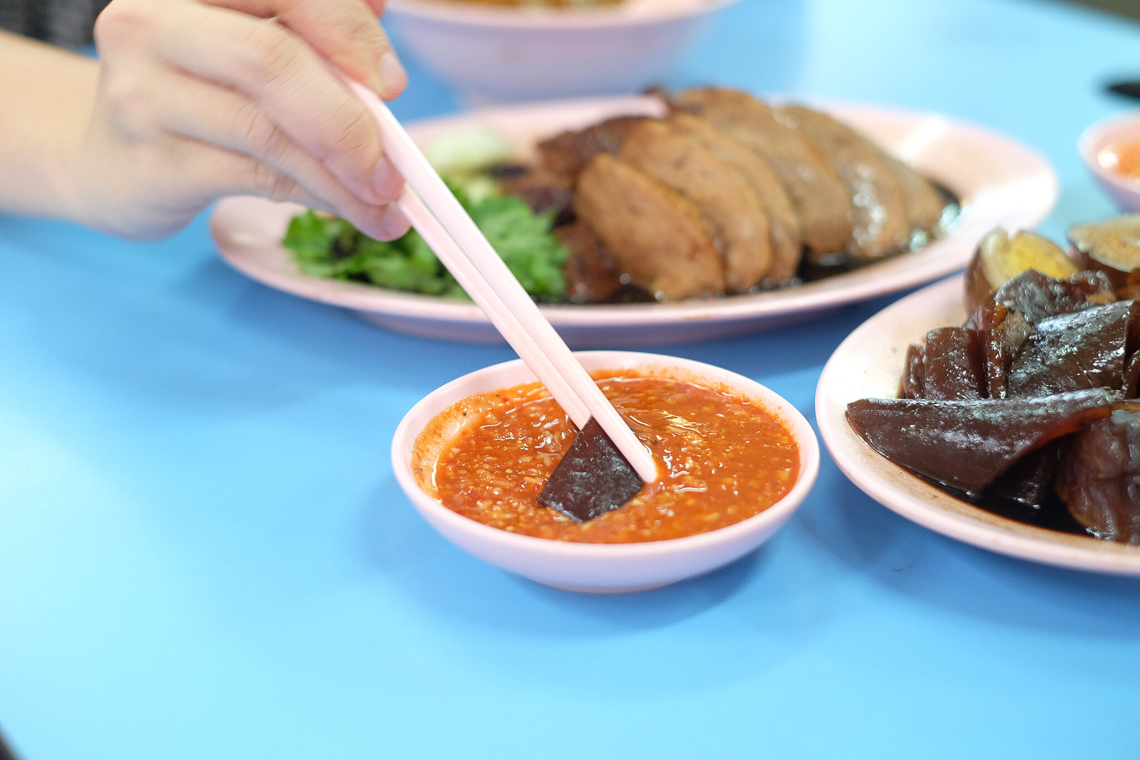 Ah Xiao Teochew Braised Duck Chilli