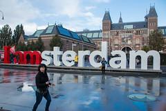I amsterdam Post Rain