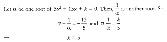 CBSE Sample Papers for Class 10 Maths Paper 12 Q 3