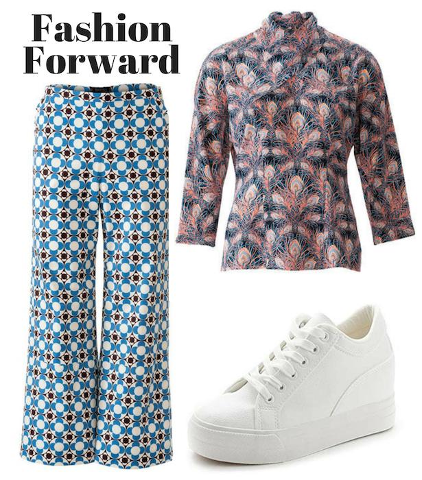 Fashion Forward Retro Blouse Style